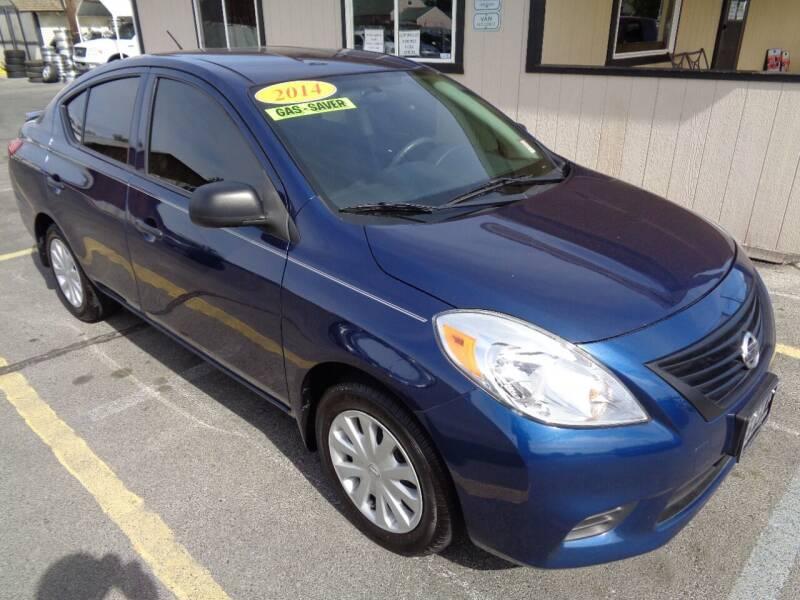 2014 Nissan Versa for sale at BBL Auto Sales in Yakima WA