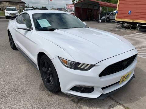 2015 Ford Mustang for sale at JAVY AUTO SALES in Houston TX