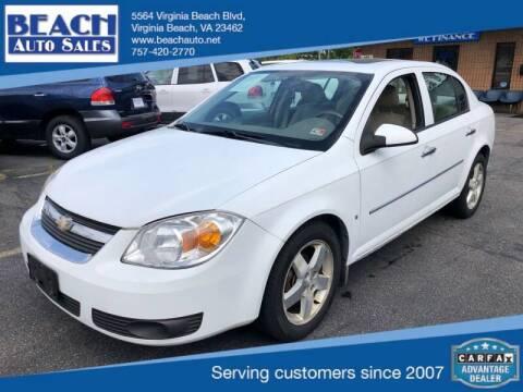 2006 Chevrolet Cobalt for sale at Beach Auto Sales in Virginia Beach VA