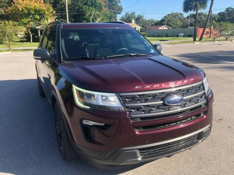 2018 Ford Explorer for sale at LUXURY AUTO MALL in Tampa FL
