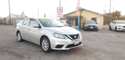 2018 Nissan Sentra for sale at Autosales Kingdom in Lancaster CA