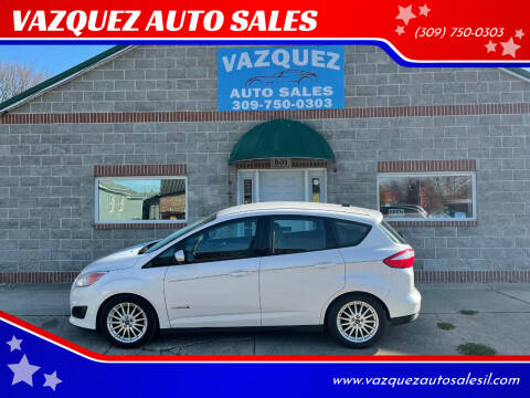 2013 Ford C-MAX Hybrid for sale at VAZQUEZ AUTO SALES in Bloomington IL
