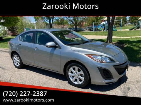 2010 Mazda MAZDA3 for sale at Zarooki Motors in Englewood CO