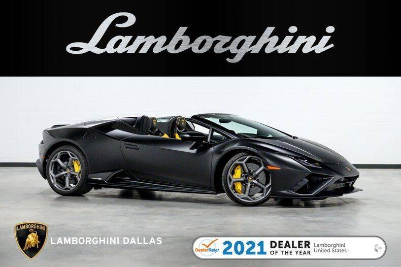 2021 Lamborghini Huracan for sale in Richardson, TX