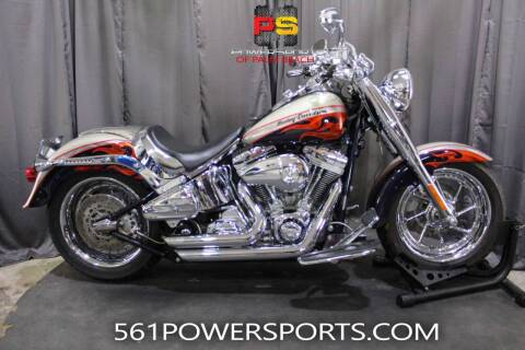 2006 Harley-Davidson CVO™ Screamin' Eagle® Fat Boy® for sale at Powersports of Palm Beach in Hollywood FL