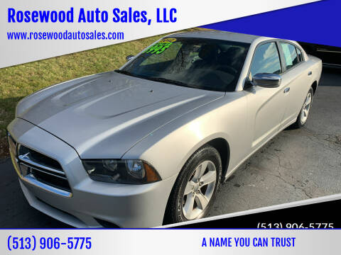 2012 Dodge Charger for sale at Rosewood Auto Sales, LLC in Hamilton OH