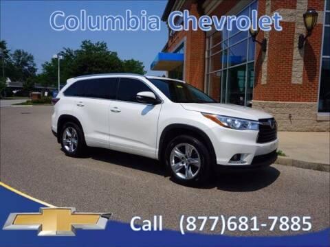 2014 Toyota Highlander for sale at COLUMBIA CHEVROLET in Cincinnati OH
