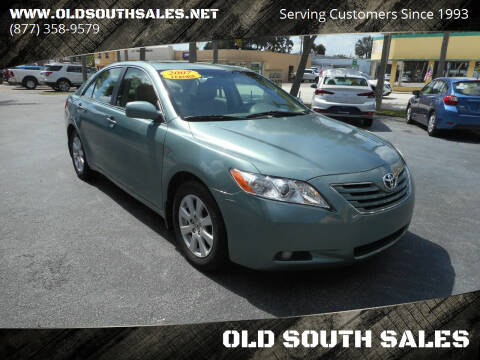 2007 Toyota Camry for sale at OLD SOUTH SALES in Vero Beach FL