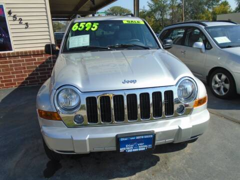 2006 Jeep Liberty for sale at DISCOVER AUTO SALES in Racine WI