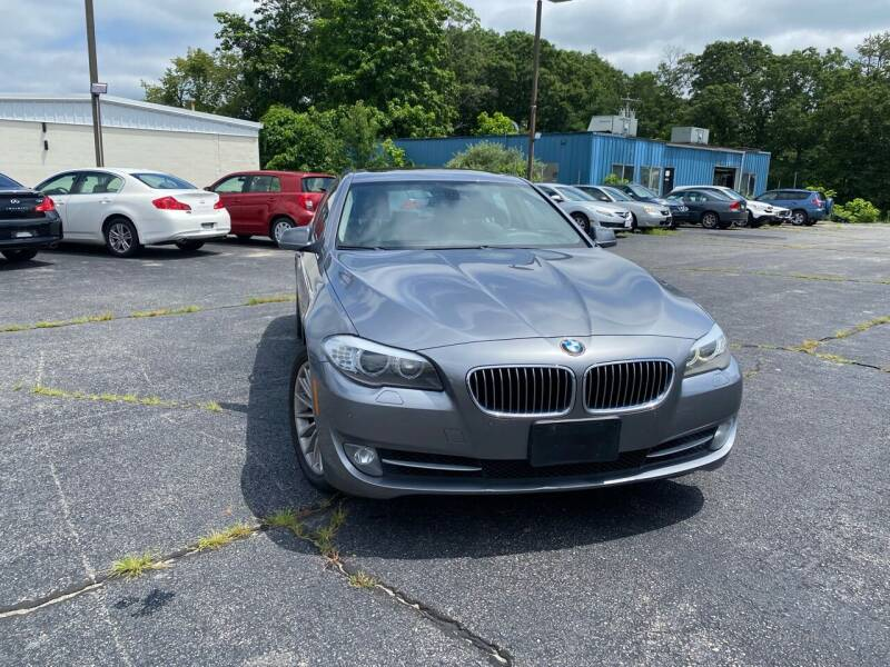 2011 BMW 5 Series for sale at M & J Auto Sales in Attleboro MA