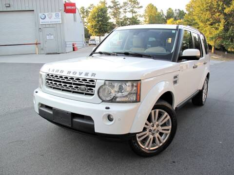 2011 Land Rover LR4 for sale at Top Rider Motorsports in Marietta GA