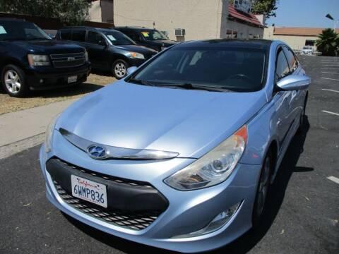 2012 Hyundai Sonata Hybrid for sale at F & A Car Sales Inc in Ontario CA