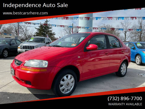 2005 Chevrolet Aveo for sale at Independence Auto Sale in Bordentown NJ