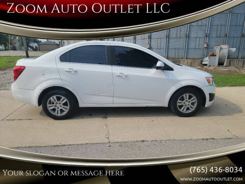 2014 Chevrolet Sonic for sale at Zoom Auto Outlet LLC in Thorntown IN