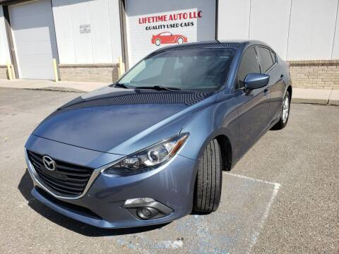 2015 Mazda MAZDA3 for sale at Lifetime Auto LLC in Commerce City CO