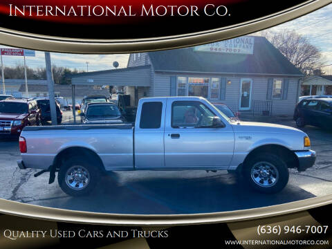 2001 Ford Ranger for sale at International Motor Co. in St. Charles MO