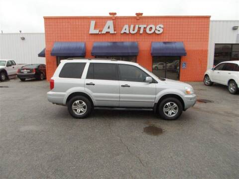 2004 Honda Pilot for sale at L A AUTOS in Omaha NE