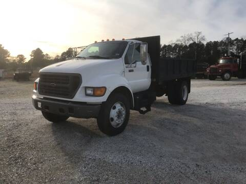 2001 Ford F-650 for sale at Ramsey Truck Sales LLC in Benton AR