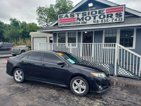 2014 Toyota Camry for sale at EASTSIDE MOTORS in Tulsa OK