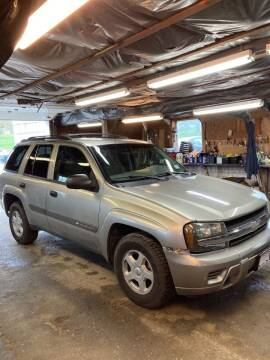 2003 Chevrolet TrailBlazer for sale at Lavictoire Auto Sales in West Rutland VT
