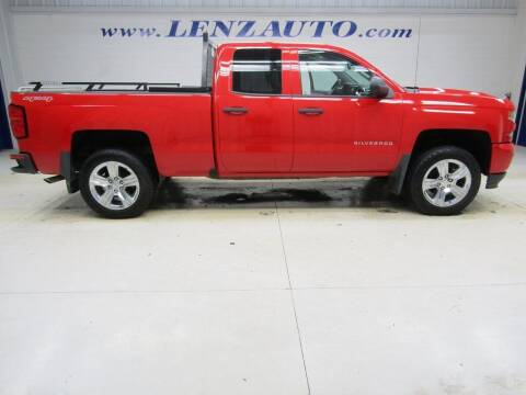 2017 Chevrolet Silverado 1500 for sale at LENZ TRUCK CENTER in Fond Du Lac WI