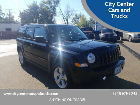 2016 Jeep Patriot for sale at City Center Cars and Trucks in Roseburg OR