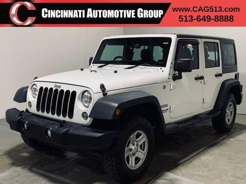 2015 Jeep Wrangler Unlimited for sale at Cincinnati Automotive Group in Lebanon OH