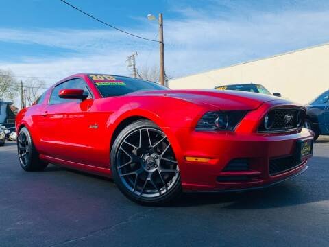 2013 Ford Mustang for sale at Alpha AutoSports in Roseville CA