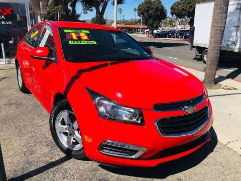 2015 Chevrolet Cruze for sale at Auto Max of Ventura in Ventura CA