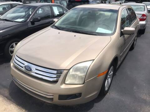 2006 Ford Fusion for sale at Sartins Auto Sales in Dyersburg TN