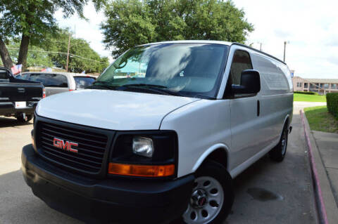 2011 GMC Savana Cargo for sale at E-Auto Groups in Dallas TX