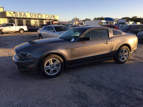 2014 Ford Mustang for sale at BSA Used Cars in Pasadena TX