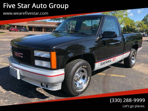 1990 GMC Sierra 1500 for sale at Five Star Auto Group in North Canton OH