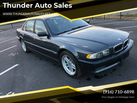 2001 BMW 7 Series for sale at Thunder Auto Sales in Sacramento CA
