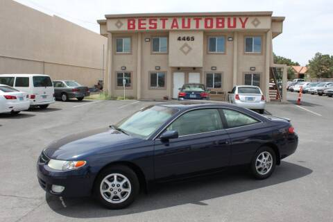 2001 Toyota Camry Solara for sale at Best Auto Buy in Las Vegas NV