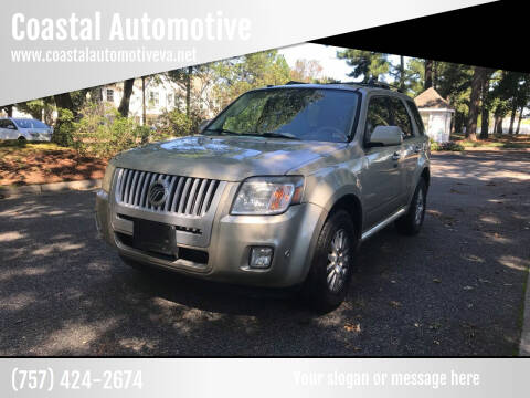 2010 Mercury Mariner for sale at Coastal Automotive in Virginia Beach VA