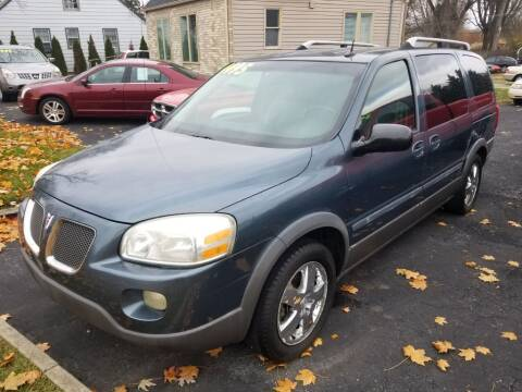 2005 Pontiac Montana SV6 for sale at Straight Line Motors LLC in Fort Wayne IN