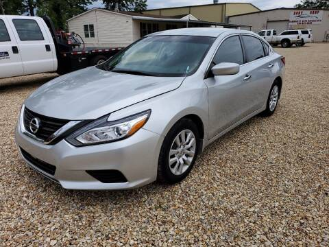 2017 Nissan Altima for sale at Community Auto Specialist in Gonzales LA