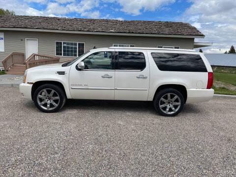 2011 Cadillac Escalade ESV for sale at GILES & JOHNSON AUTOMART in Idaho Falls ID