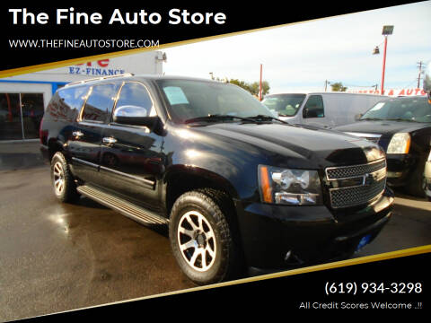 2008 Chevrolet Suburban for sale at The Fine Auto Store in Imperial Beach CA