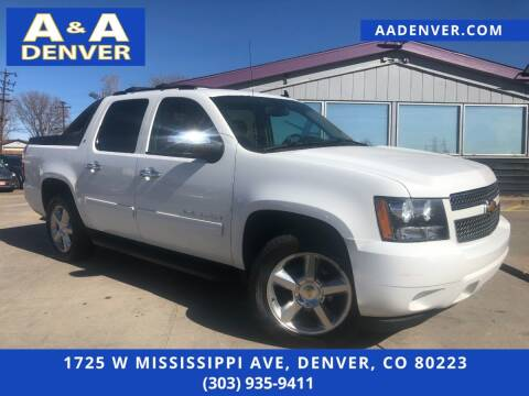 2012 Chevrolet Avalanche for sale at A & A AUTO LLC in Denver CO
