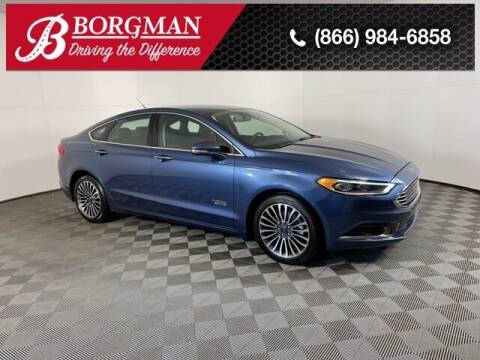 2018 Ford Fusion Energi for sale at BORGMAN OF HOLLAND LLC in Holland MI