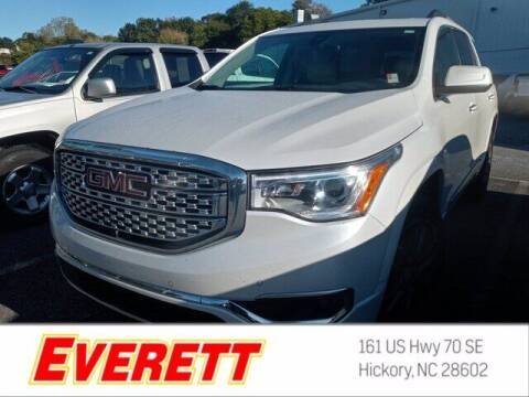 2017 GMC Acadia for sale at Everett Chevrolet Buick GMC in Hickory NC