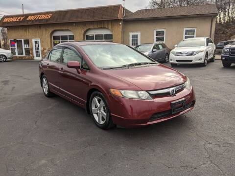 2008 Honda Civic for sale at Worley Motors in Enola PA