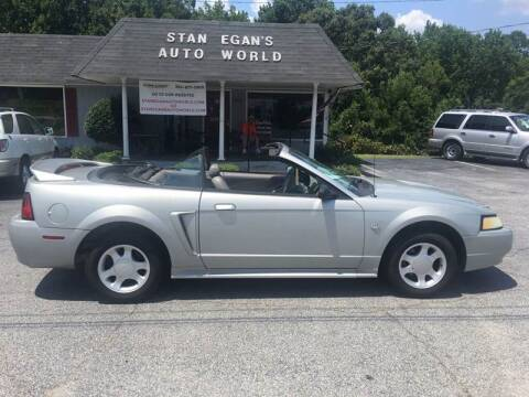 1999 Ford Mustang for sale at STAN EGAN'S AUTO WORLD, INC. in Greer SC