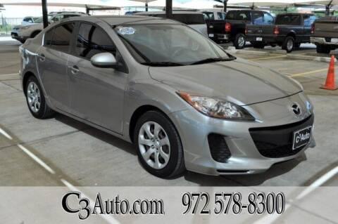 2012 Mazda MAZDA3 for sale at C3Auto.com in Plano TX