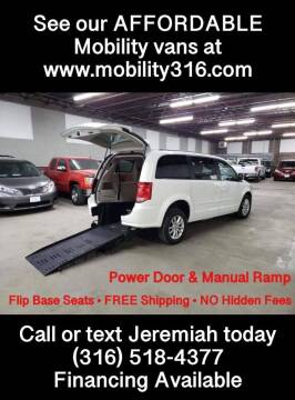 2014 Dodge Grand Caravan for sale at Affordable Mobility Solutions, LLC - Mobility/Wheelchair Accessible Inventory-Wichita in Wichita KS