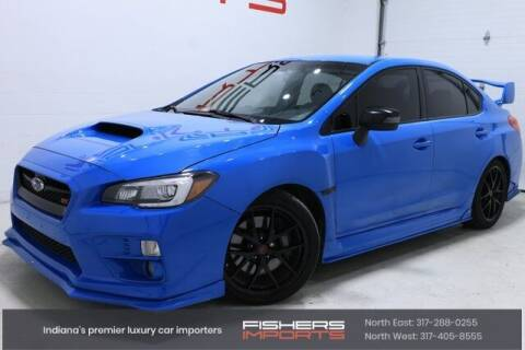 2016 Subaru WRX for sale at Fishers Imports in Fishers IN