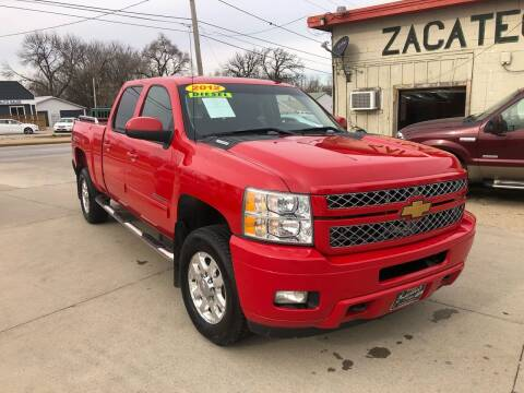 2012 Chevrolet Silverado 2500HD for sale at Zacatecas Motors Corp in Des Moines IA