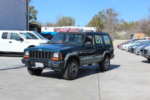1998 Jeep Cherokee for sale at Car 1234 inc in El Cajon CA